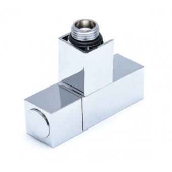 Вентиль запорный угловой квадратный НР-НР